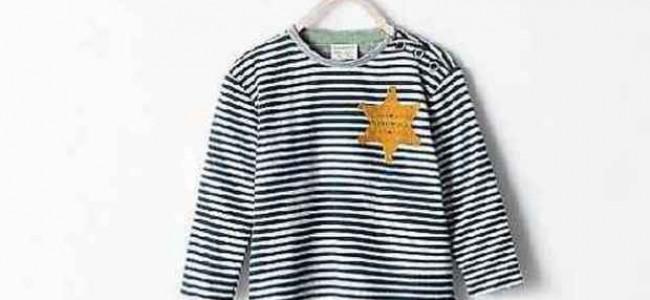 """Zara ritira dal mercato la maglietta che ricorda il """"pigiama a righe usato dai deportati"""""""