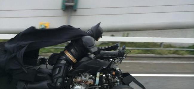 Avvistato Batman in Giappone [FOTO]