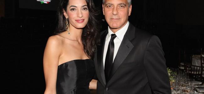 George e Amal finalmente sposi