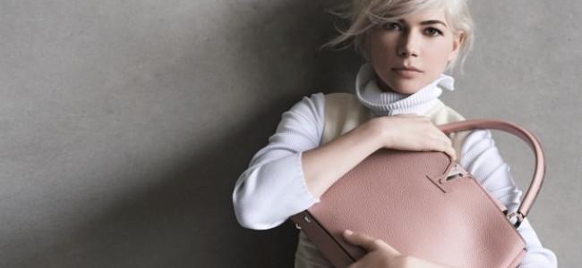 Michelle Williams per la terza volta scelta da Vuitton