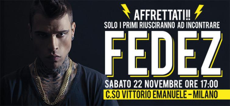 Alcott riapre a Milano in C.so Vittorio Emanuele: ospite d'eccezione Fedez