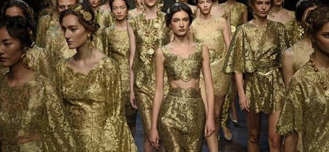 Dai pregiati mosaici bizantini nasce l'originale collezione di Dolce & Gabbana