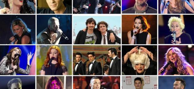 Svelati i 20 Big che parteciperanno al Festival di Sanremo 2015
