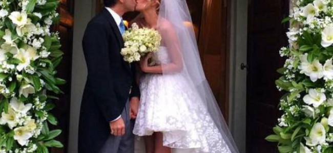 Si è sposata Alessia Marcuzzi e la rete va in tilt [FOTO]