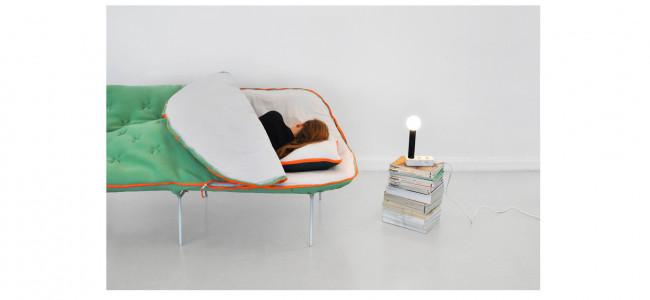 Il divano-sacco a pelo: il regalo ideale per le persone pigre [FOTO]