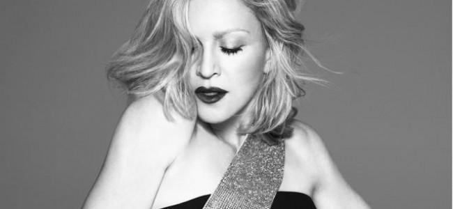Madonna nuovo volto di Versace [FOTO]