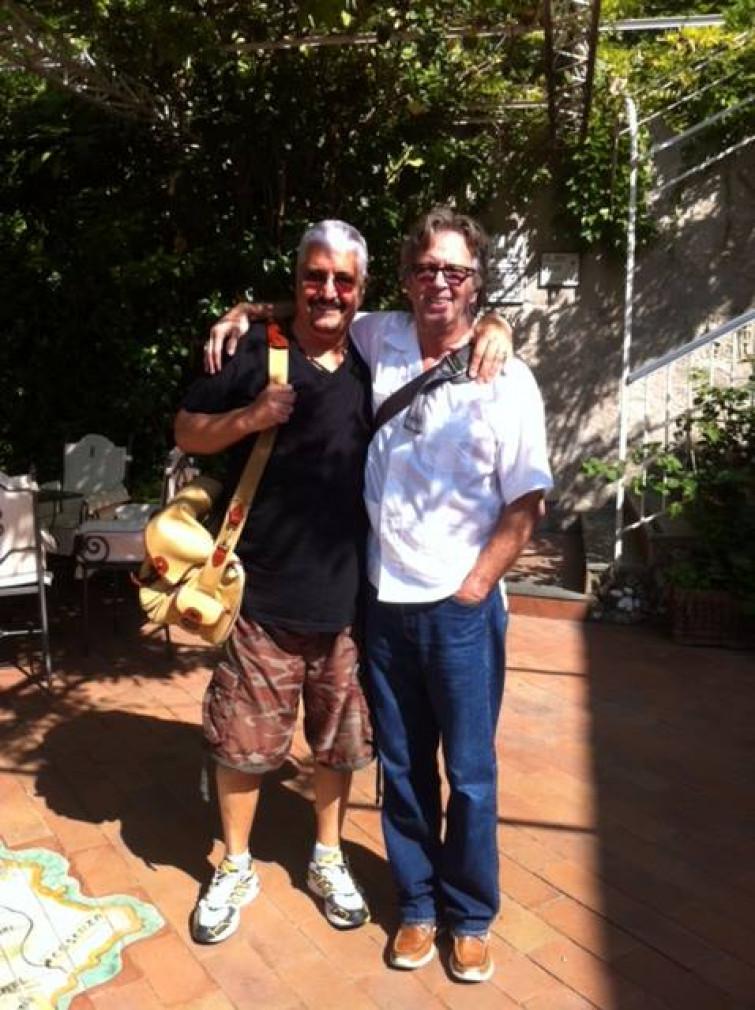 Eric Clapton canta per Pino Daniele [VIDEO]