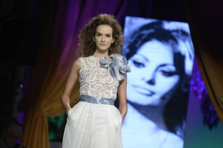 AltaRoma: Giada Curti dedica la sua collezione a Sophia Loren
