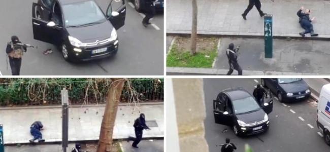 Attentato al giornale satirico Charlie Hebdo: 12 morti [VIDEO]