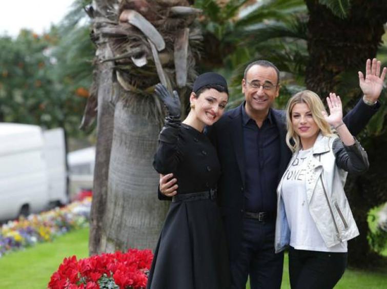 Emma Marrone e Arisa vallete al Festival di Sanremo