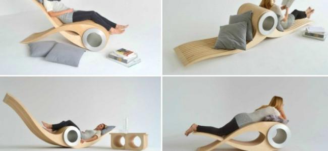 Exocet: la sedia che si trasforma