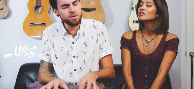 Us The Duo: bellissimo medley delle hit musicali del 2014 [VIDEO]