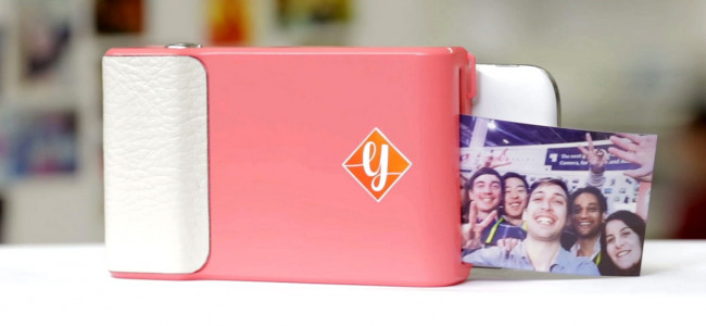 Prynt: la cover per smartphone che stampa polaroid [VIDEO]