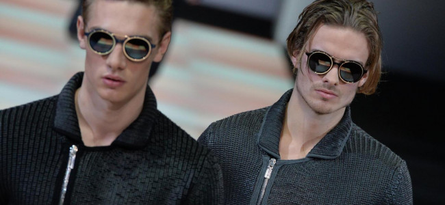 Emporio Armani: la collezione presentata a Milano Moda Uomo [FOTO]