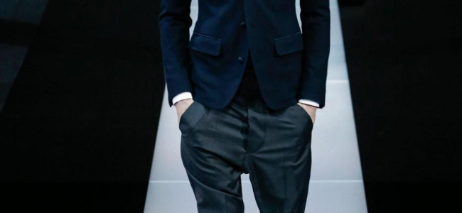 Giorgio Armani: la collezione al Milano Fashion Show [FOTO]