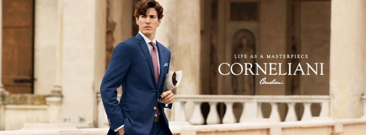 Corneliani, essenza del Rinascimento italiano