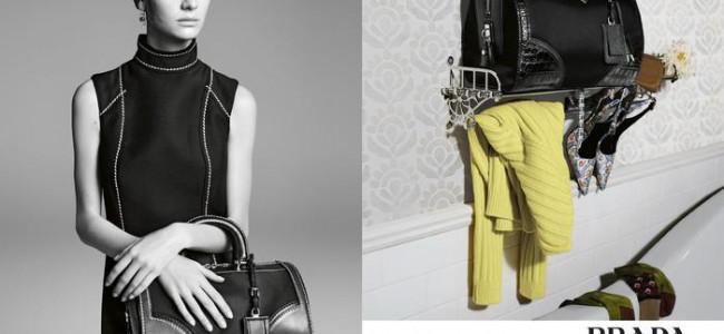 La nuova campagna pubblicitaria di Prada firmata Steven Meisel
