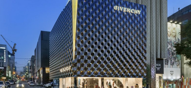 Givenchy a Seoul, il nuovo flagship [FOTO]
