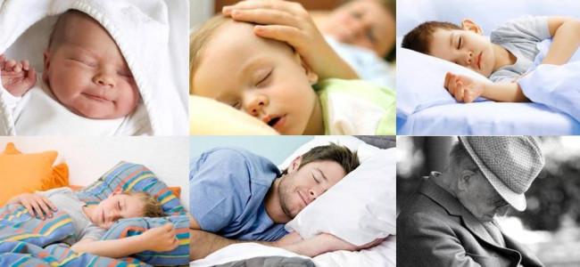 Ecco quanto bisogna dormire in base all'età: la tabella