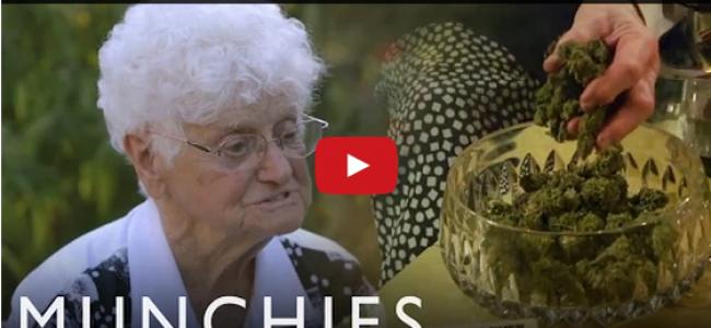 Nonna Marijuana, la 92enne che cucina e cura con la cannabis [VIDEO]