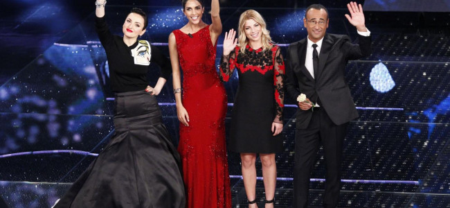 Festival di Sanremo: sono rimasti in 16