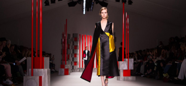 London Fashion Week 2015: sulle passerelle gli abiti by Eudon Choi