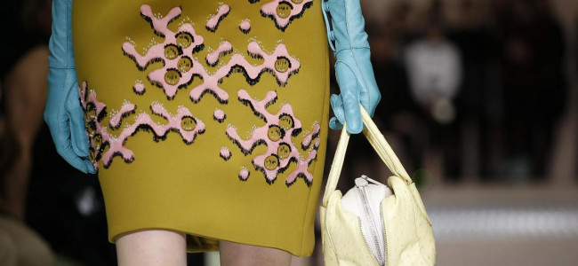 Milano Fashion Week 2015: la donna confetto di Prada [GALLERY]