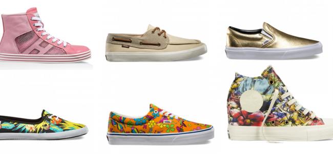 Hogan, Converse, Superga, Vans, le più belle sneakers per la primavera 2015[GALLERY]