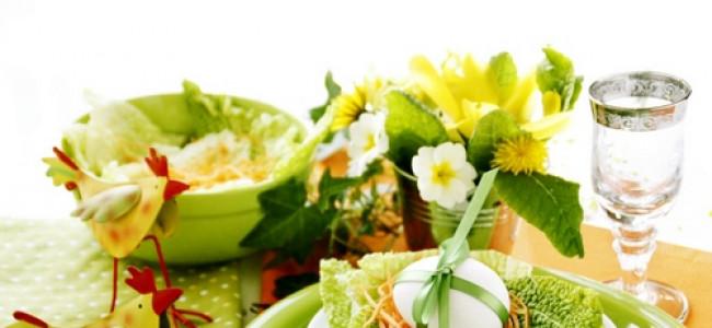 Mise en place di Pasqua, idee per apparecchiare una tavola di primavera [GALLERY]