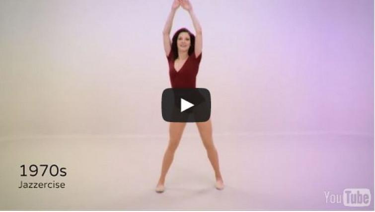 Ecco com' è cambiato il fitness negli ultimi 100 anni [VIDEO]