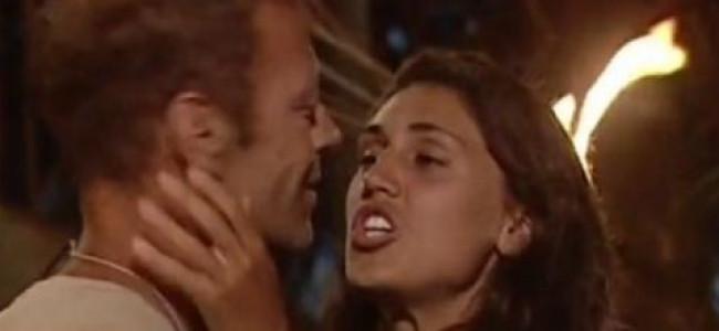 Isola dei Famosi, il saluto a luci rosse di Cecilia a Rocco [VIDEO]