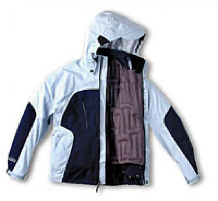 La giacca che si gonfia con l'aria, si indossa da -15°a +15°
