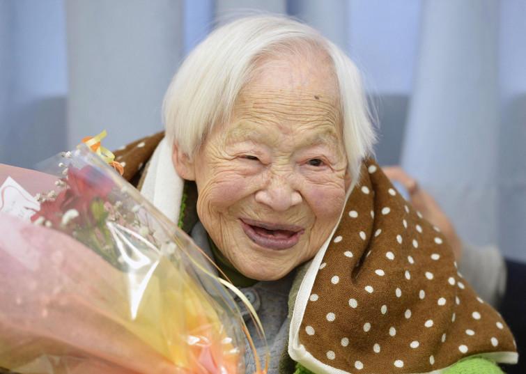 Misao, la nonna più vecchia del mondo ha 117 anni
