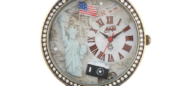 """Didofà omaggia la Grande Mela con un orologio da """"mangiare con gli occhi"""""""