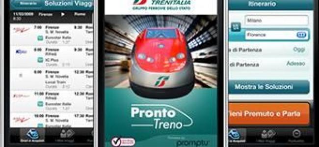 Trenitalia: i biglietti si possono acquistare dallo smartphone