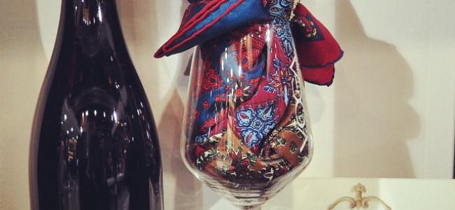 Vino e moda: da Vinitaly, la seta che incarna profumi e colori del Chianti