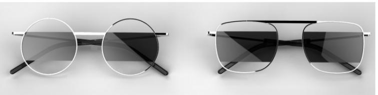 Lente sospesa per i nuovi occhiali di CoSTUME NATIONALE by JPLUS