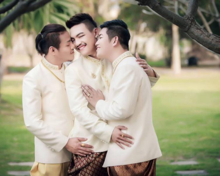 Scandaloso matrimonio gay, si celebra il primo a tre
