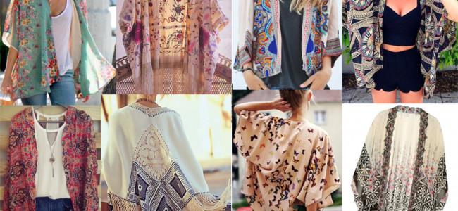 Kimono: la nuova tendenza per la primavera-estate 2015 [GALLERY]