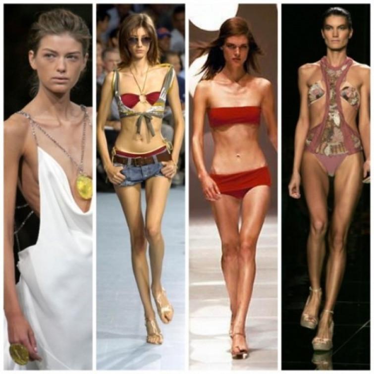 La Francia dice no alle modelle troppo magre