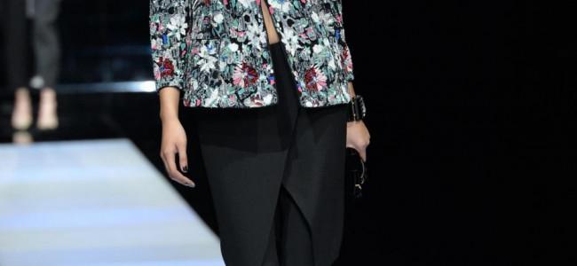 Milano Fashion Week 2015: la sfilata di Giorgio Armani [GALLERY]