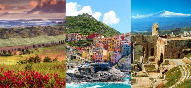 Viaggi di primavera, la magnifica Italia da Nord a Sud [GALLERY]