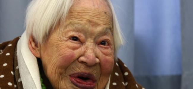 E' morta la donna più vecchia del mondo, il suo nome era Misao