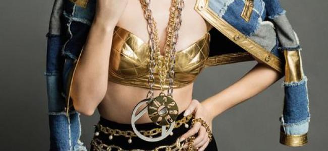 Katy Perry per Moschino con un look stravolto