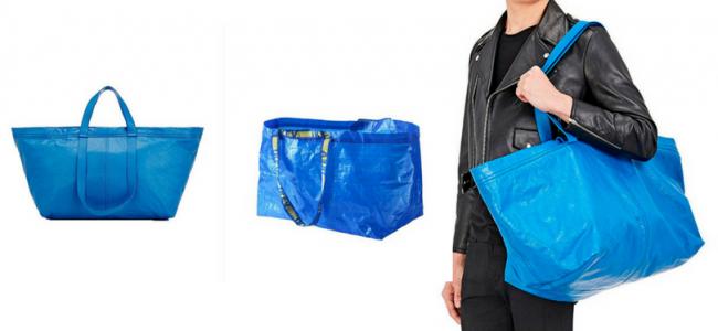 La shopping bag Ikea? Se la crea Balenciaga costa 1700 euro