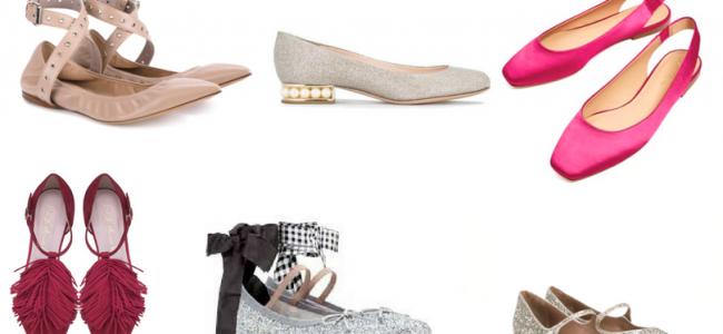 La ballerina, la scarpa di tendenza per un look da matrimonio