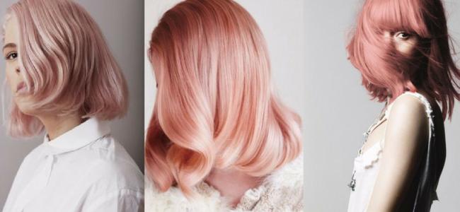 Tendenza capelli 2017: i colori must have sono sunset o peach