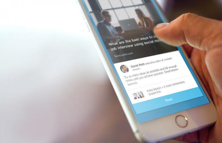 Linkedin aiuta a farsi notare di più con i filtri