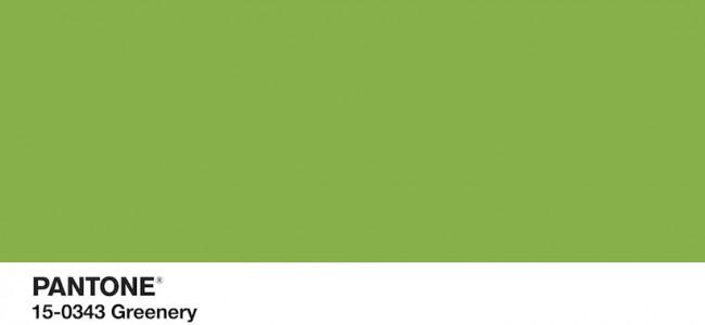 Greenery, il colore dell'anno!