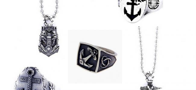 Ancore in argento protagoniste della nuova capsule collection Pietro Ferrante